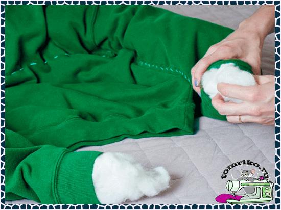 Сшить лежанку для собаки.О том, как сшить своими руками лежаку из старых вещей.Прямоугольный и круглый лежак
